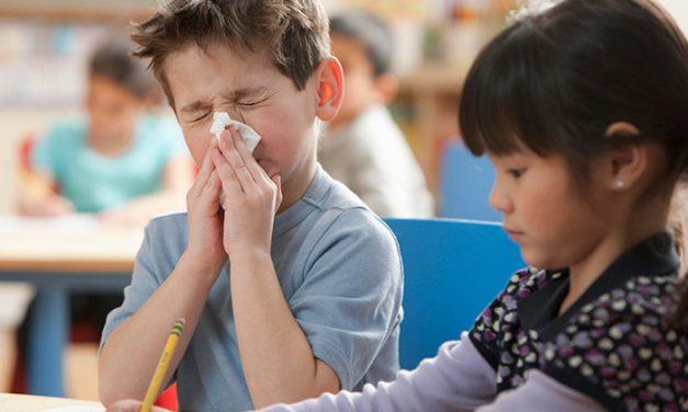 5.800 de cazuri de gripă în grădinițe și școli. Cursurile vor fi suspendate în clasele unde absenteismul depășește 20%