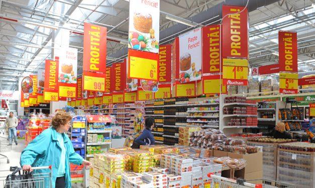 Auchan, Carrefour și Cora, amendate cu milioane de euro. Au mers mână-n mână pentru fixarea prețurilor la promoții