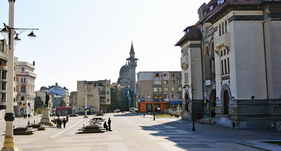 Restricții de circulație în Piața Ovidiu cu ocazia Festivalului Gastronomiei și Vinului