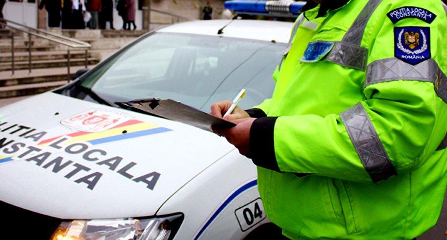 Poliția Locală îi caută pe cei cinci șoferi constănțeni care nu și-au luat încă amendă de parcare