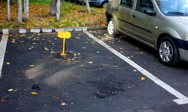 Taxa pentru rezervarea locului de parcare trebuie achitată până la 1 aprilie