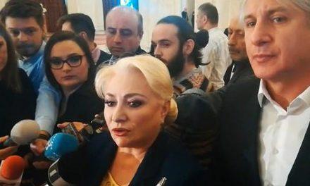 """O nouă gafă a Vioricăi Dăncilă: Există """"prezumția de vinovăție"""". Nu vreau să se înțeleagă că o acuz de ceva pe doamna Kovesi, că vreau să mă implic în justiție"""