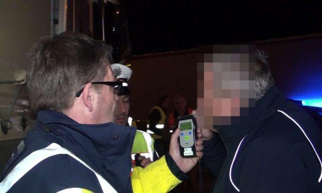 Un șofer român de TIR, record absolut în Germania: cel mai beat șofer prins vreodată. Avea 4,32 la mie alcool în aerul expirat