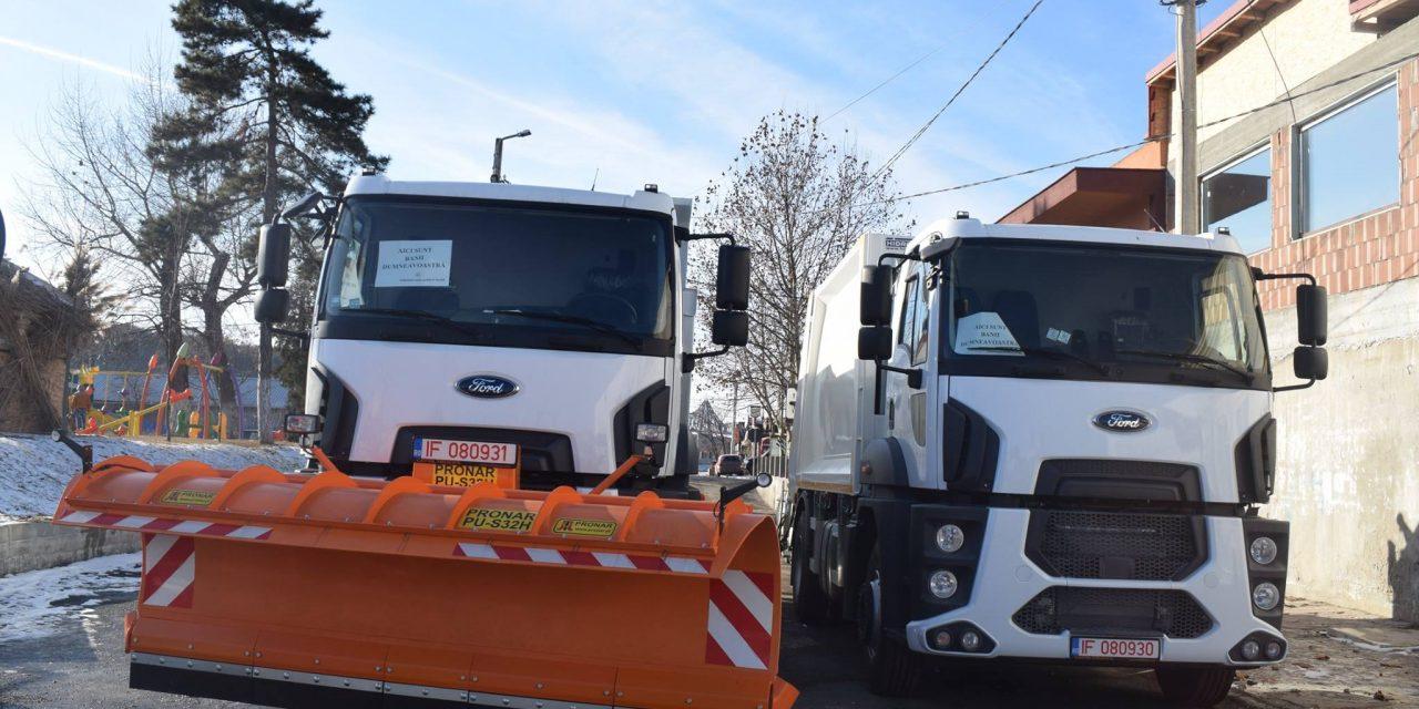 Primăria Cernavodă, achiziții importante pentru salubrizarea și deszăpezirea orașului