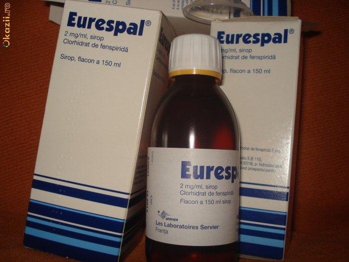 Cel mai folosit sirop de tuse pentru copii – Eurespal, retras de urgență din farmacii. Avertisment: întrerupeți imediat tratamentul!