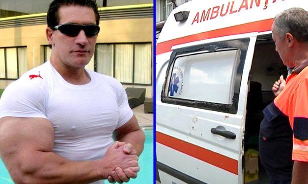 Hăndrălău, spitalizat după ce tricoul mulat i-a oprit circulația sângelui