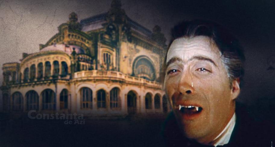Dracula și-a riscat moartea la Constanța după ce a dormit în Cazino. Află detalii horror despre drama contelui!
