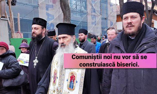 """Preotul Eugen Tănăsescu, maestru la insulte. Îi numește """"comuniști"""" pe cei care sunt împotriva construirii de biserici"""