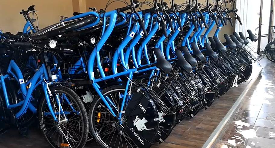 Bike-sharing. 390 de biciclete vor fi puse gratuit la dispoziția constănțenilor