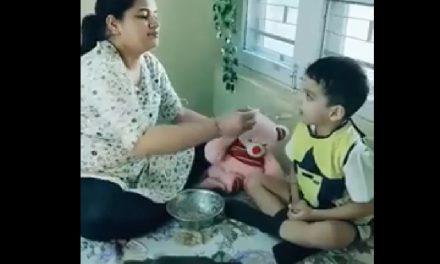 VIDEO / Copilul tău nu vrea să mănânce? Iată cum îl poți convinge în doar câteva secunde