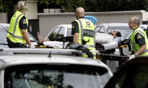 GALERIE FOTO / Atac terorist la două moschei. 40 de oameni au murit