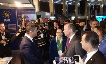 Cum a devenit orașul Ovidiu model de succes în administrația liberală. Primarul Scupra a reprezentat SE României la Summitul PPE