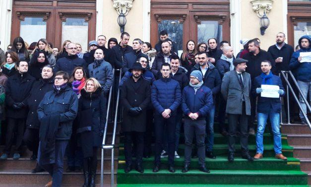 Magistrații constănțeni cer în continuare o Justiție independentă. Protestele vor continua toată săptămâna