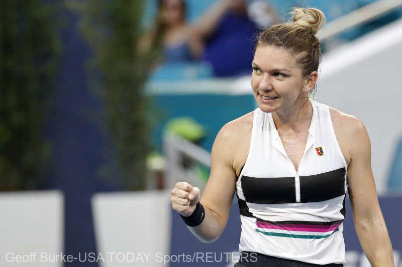 Simona Halep, calificare spectaculoasă în semifinale la Miami. Este la un meci distanță de nr. 1 WTA
