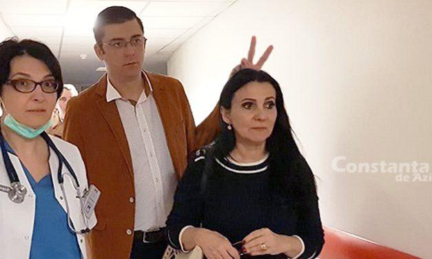 Ce nu știai despre vizita ministrului Sorina Pintea la Spitalul Județean de Urgență Constanța