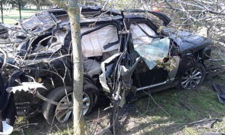 Airbag-urile mașinii lui Răzvan Ciobanu s-au deschis la 126 km/h. Computerul de bord arată că acesta a condus și cu 250 km/h
