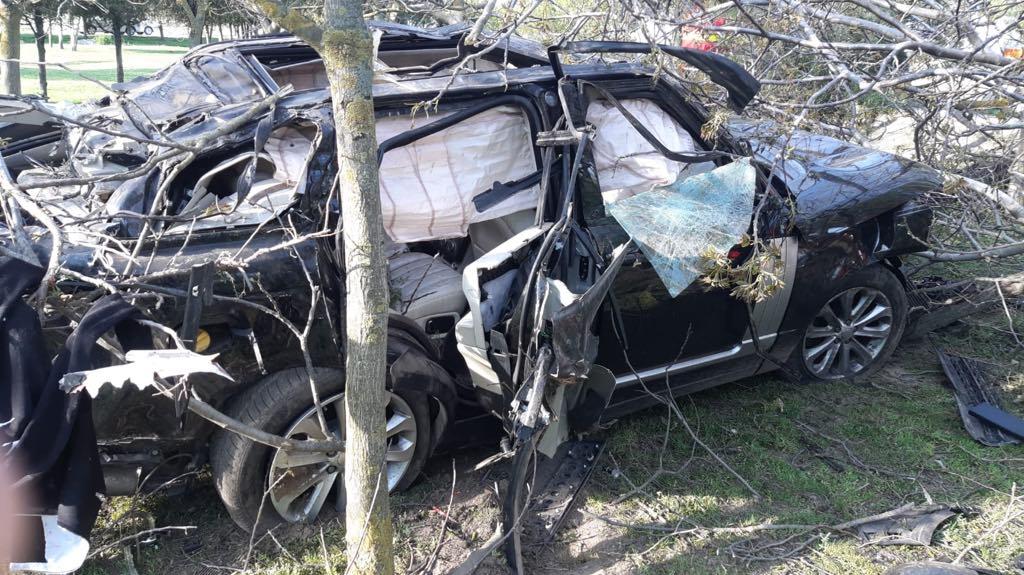 GALERIE FOTO / Accident rutier mortal în județul Constanța. Creatorul de modă Răzvan Ciobanu și-a pierdut viața