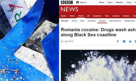 Cocaina adusă de valuri pe plajă la Constanța, în presa internațională