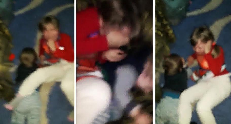 """VIDEO. Cruzime fără margini! Un tată se filmează în timp ce își lovește fără milă copiii: """"Băi, vă omor!"""""""