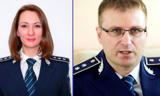 Șefi noi în Poliția Constanței. Maria Crina Chirea este acum adjunctul Inspectoratului Județan