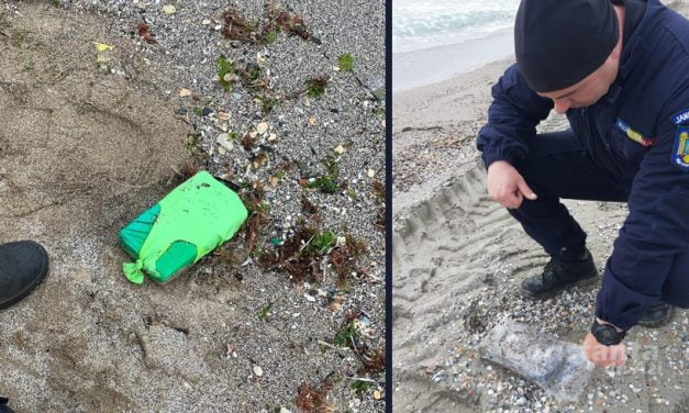 Noi pachete cu cocaină, găsite de polițiști pe litoral, la Eforie, Agigea și Tuzla