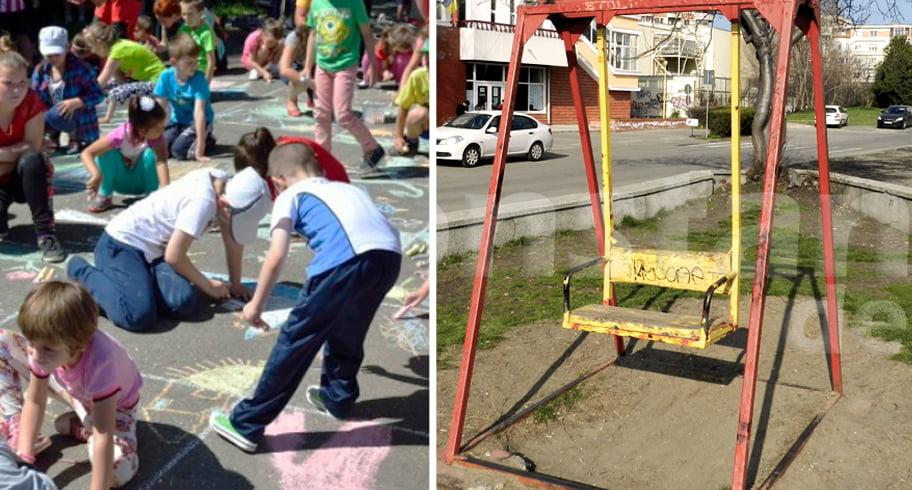 Copiii nu au locuri de joacă, însă Primăria Constanța sparge 26.000 de euro pentru Ziua Copilului