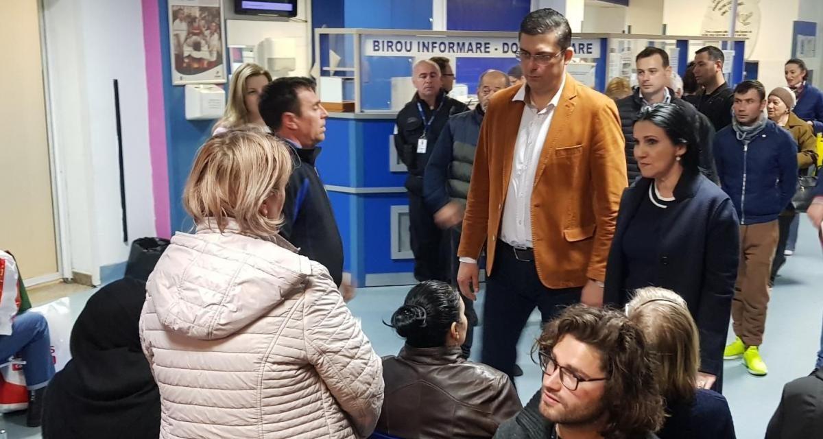 """Spitalul Județean Constanța: """"Dezastru, mizerie, debandadă"""". Soluția găsită de M.Sănătății: demiterea a două asistente"""