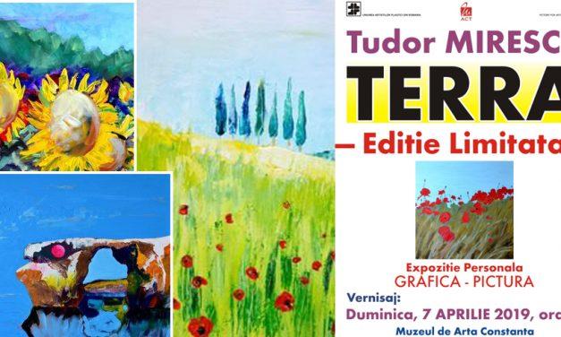 Expoziție de grafică și pictură semnată Tudor Mirescu, la Muzeul de Artă Constanța