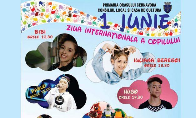 Ateliere, concerte, teatru cu personaje Disney. Ziua Internațională a Copilului, sărbătorită la Cernavodă