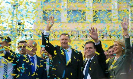 Iohannis câștigă în orașul Ovidiu cu 75,68%