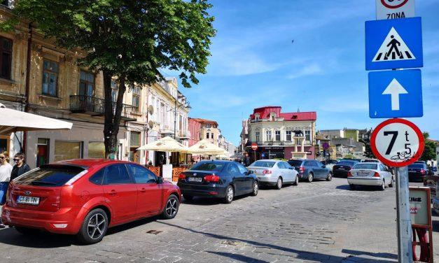 Anunț important de la Primărie: Toate mașinile din Zona Peninsulară, care nu au permis de acces în geam, vor fi ridicate