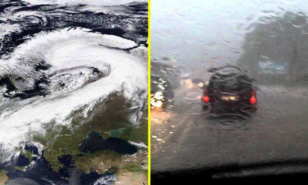 Atenționare meteo! România va fi lovită de un ciclon mediteranean
