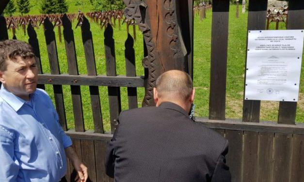 Maghiarii au pus lacăt pe Cimitirul din Valea Uzului pentru ca românii să nu mai ajungă la mormintele militarilor eroi