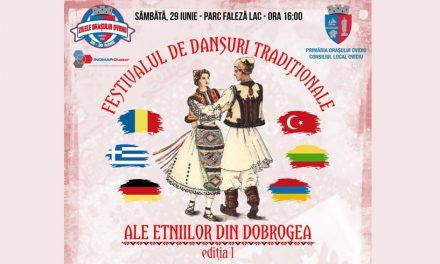 Eveniment cultural inedit! Primăria Ovidiu organizează Festivalul de Dansuri Tradiționale ale Etniilor din Dobrogea