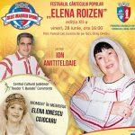 """Primăria Ovidiu organizează a 12-a ediție a Festivalului Cântecului Popular """"Elena Roizen"""""""