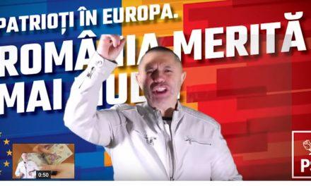 """VIDEO / Nicolae Guță lansează imnul PSD: """"Arde flacăra în torță, PSD este o forță; Marțienii de-ar veni, și tot nu ne pot opri"""""""