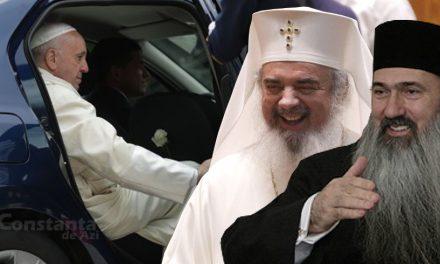 Teodosie și Daniel, glume dubioase pe seama vizitei Papei Francisc