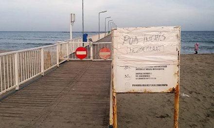 Primăria a început lucrările de reparații la Pasarela din Mamaia