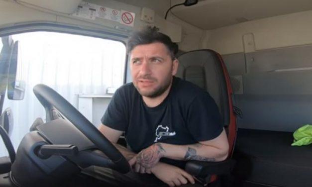 """Șofer de TIR, către pesediști: """"Faceți voi joburi în țară să nu mai trăiască oamenii de pe o zi pe alta. Șoferii români își văd familia 2-3 luni pe an, adunat"""""""