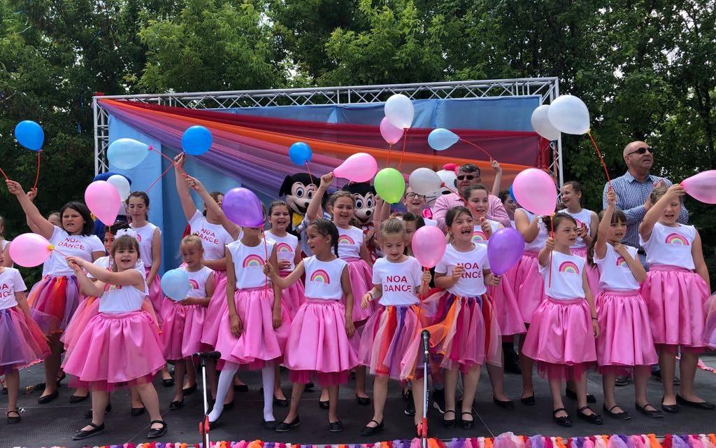 Cea mai frumoasă petrecere pentru copii de 1 Iunie, la Nicolae Bălcescu