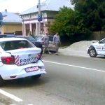 VIDEO. Trei mașini de poliție s-au ciocnit în timp ce încercau să ocolească o coloană