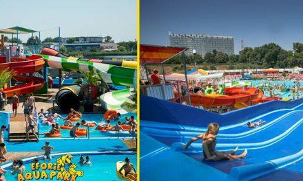Se redeschide Eforie Aqua Park. În prima zi, intrarea este liberă pentru toată lumea!