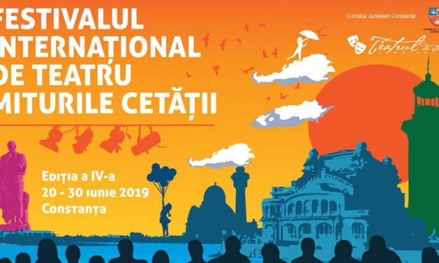 A început festivalul Miturile Cetății. Teatru cu acces gratuit în Piața Ovidiu. Programul complet