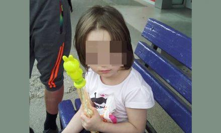 Inuman. Fetiță de 3 ani, abandonată de mamă. Copilul, flămând și însetat, stătea cuminte într-o stație de autobuz