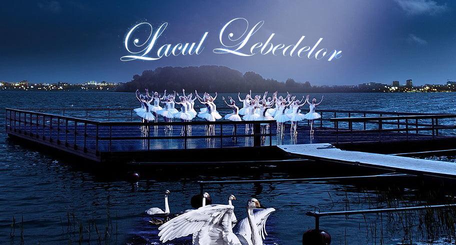 """Premieră în România. """"Lacul Lebedelor"""" se joacă pe lac, în orașul Ovidiu. Acces gratuit"""