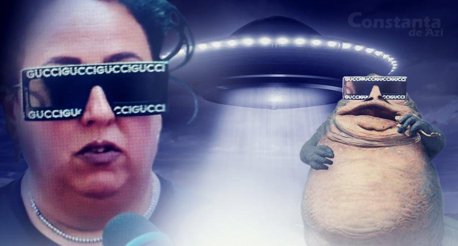 """Extratereștrii au răspuns la semnalul transmis de ochelarii Lizetei. """"Gata, o luăm acasă!"""""""
