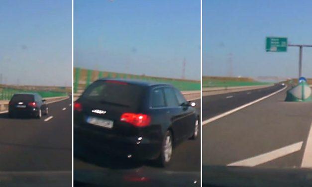 VIDEO. La un pas de moarte pe Autostradă. Manevra unui șofer a iscat dezbateri aprinse. Cine are dreptate?