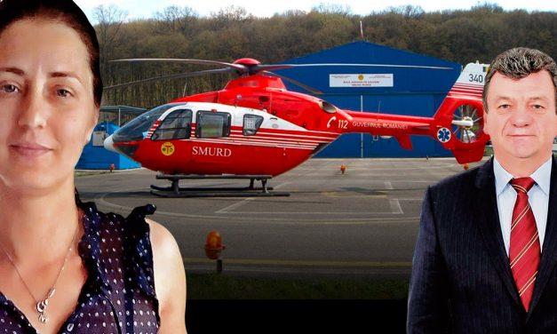 Femeie în stare critică, transferată la Viena cu ambulanța, pe banii familiei. Pentru diareea senatorului Verginel s-a găsit un elicopter