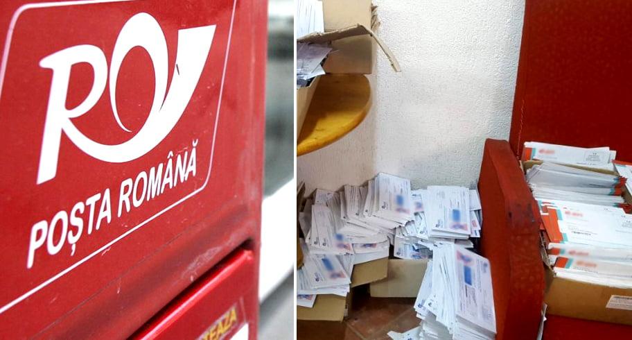 Opt poștași au ascuns intenționat 10.000 de plicuri la subsolul oficiului poștal. Între acestea se aflau și citații de la instanțe