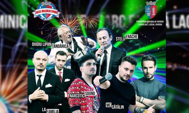 Concerte de excepție, festivaluri, concursuri și artificii la Zilele Orașului Ovidiu. Află programul complet